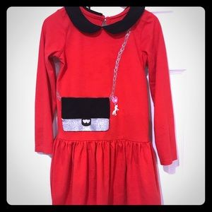 🎀 4/$15 The Children's Place Red Dress Size 4T
